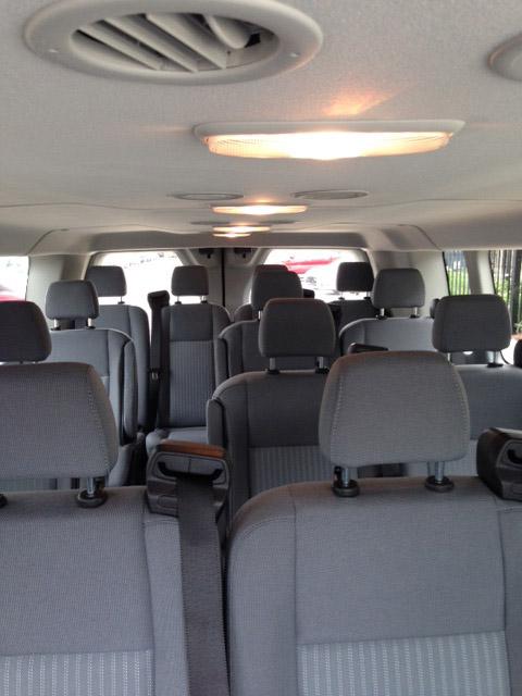 Ford Transit - 15 Passenger Van Rental