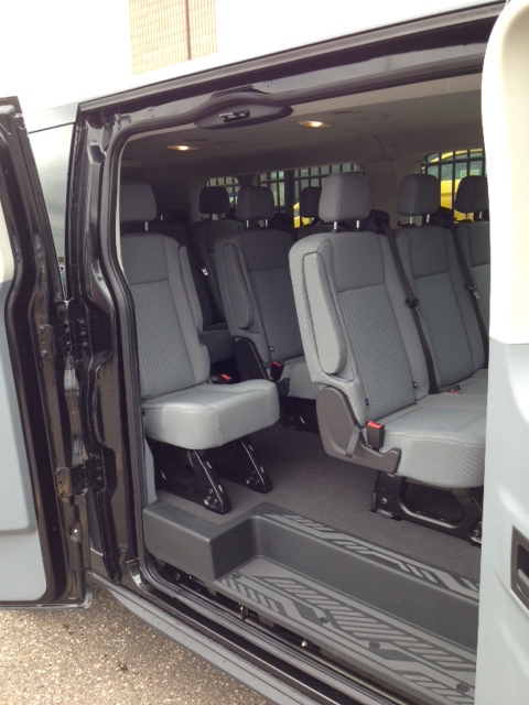 Ford Transit 15 Passenger Van Rental Midway Ford In