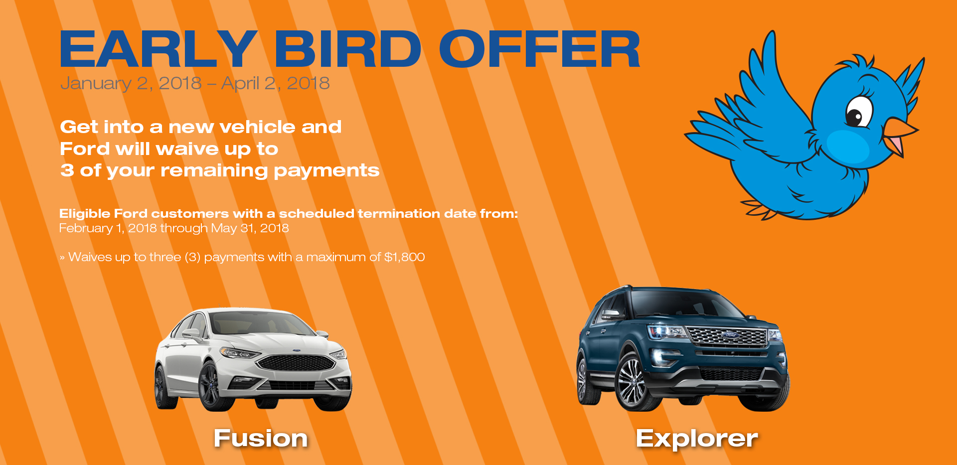 Ford Early Bird Lease Special