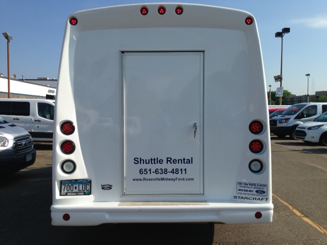 Shuttle Bus - 15 Passenger - Rental