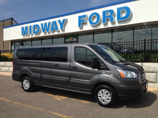 ford transit 8 passenger van rental midway ford. Black Bedroom Furniture Sets. Home Design Ideas