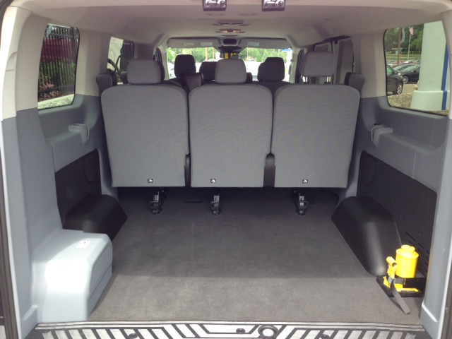 Ford transit 8 passenger van rental midway ford - Ford transit 12 passenger van interior ...